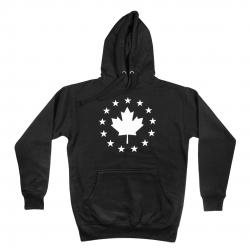 Signature Pullover Hoodie Black w/ White Logo