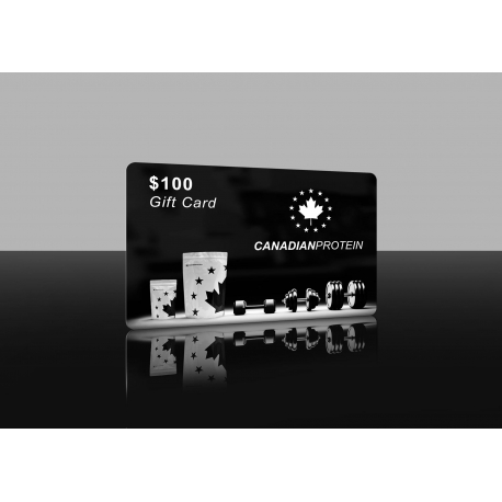 $100 Canadian Protein Gift Card