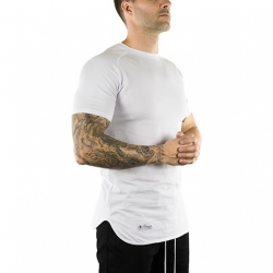 Extended T-Shirt (Arctic White)