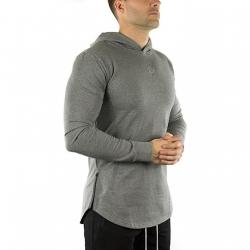Long Sleeve Tech Hoodie (Carbon)